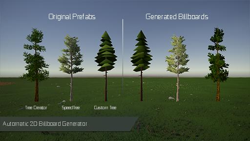 GPU Instancer Tree Instancing